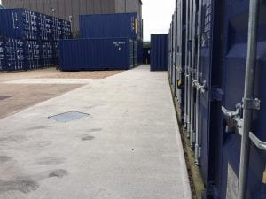 Shipping Container Storage in our secure compound