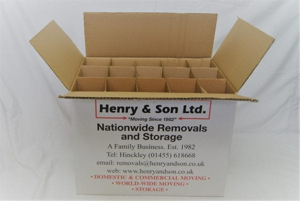 Henry and son bottle carton