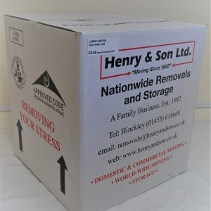 large removal carton